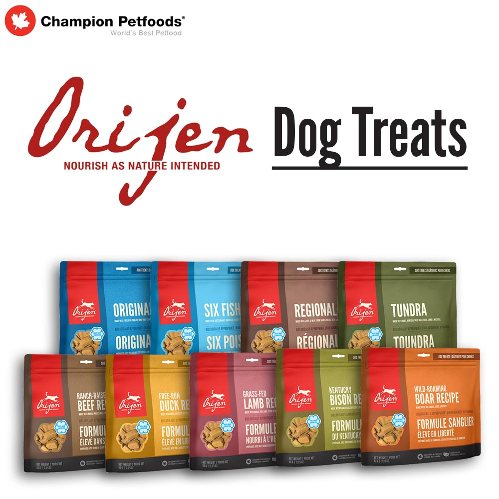 Order Form - ORIJEN Dog Treats