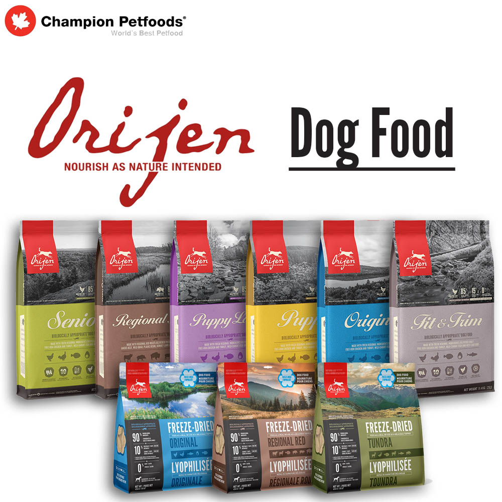 Order Form - ORIJEN Dog Food
