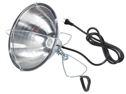 Heat Lamp - Brooder - Little Giant - Aluminum Shade