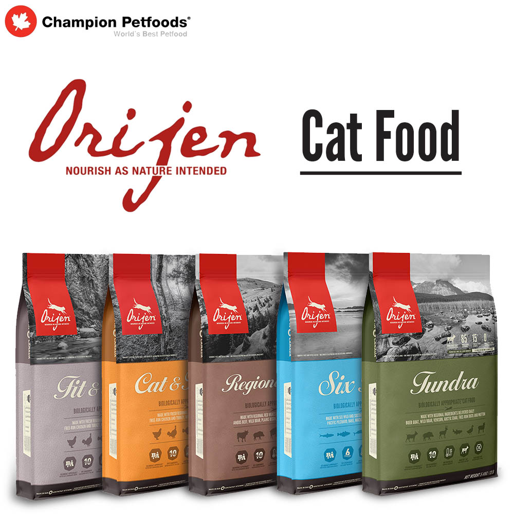 Order Form - ORIJEN Cat Food
