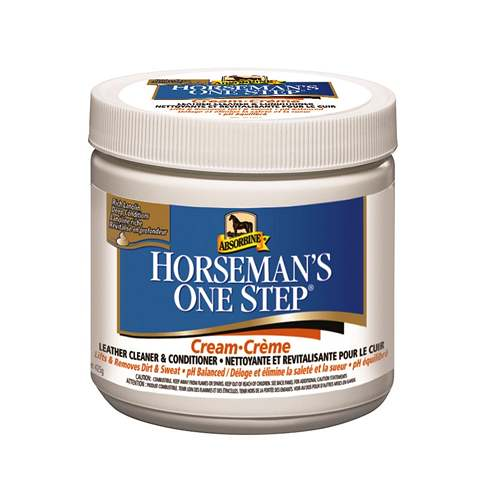 Leather Cleaner / Conditioner - Horsemans One Step