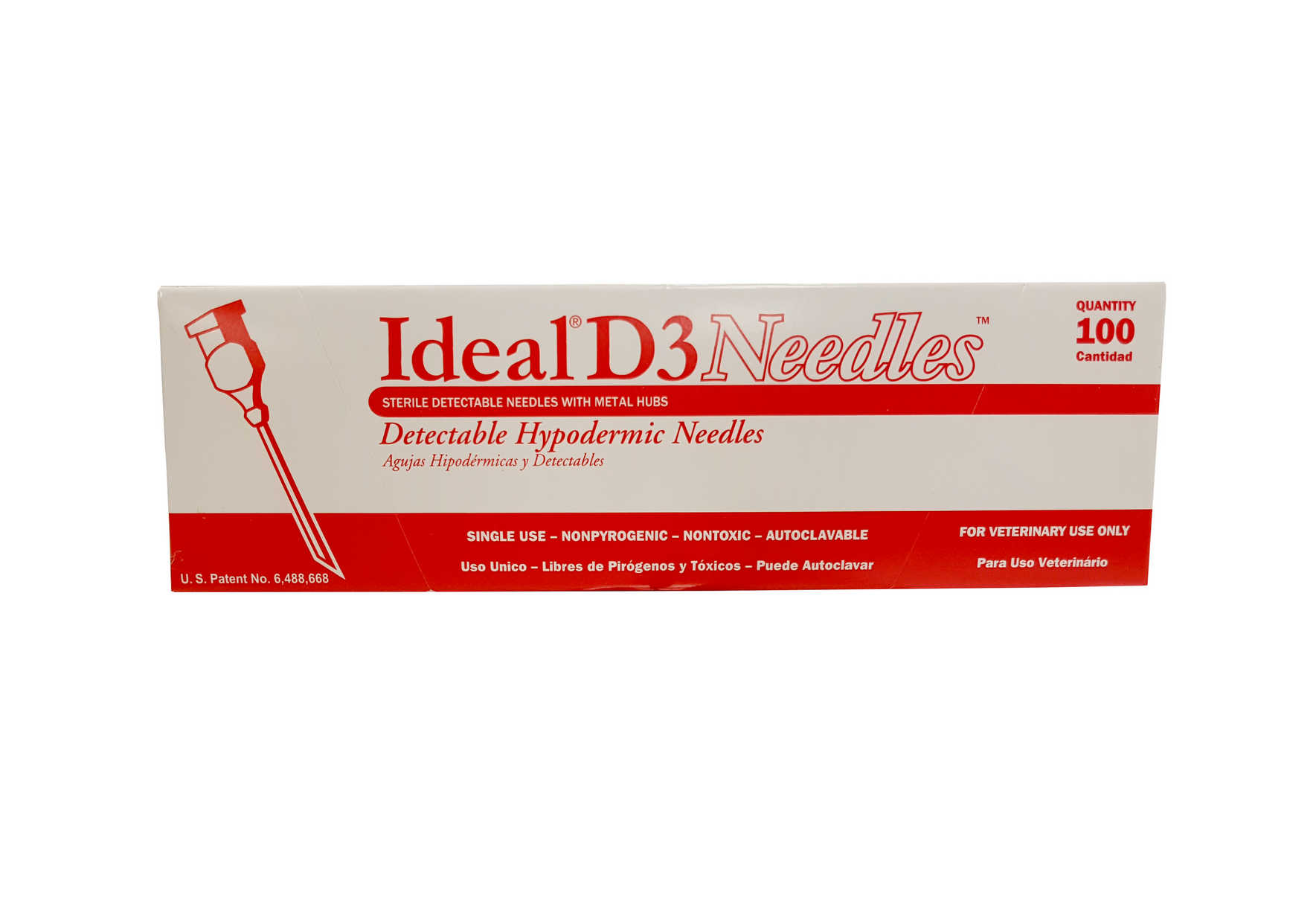 Needles - D3 Detectable - 100pk