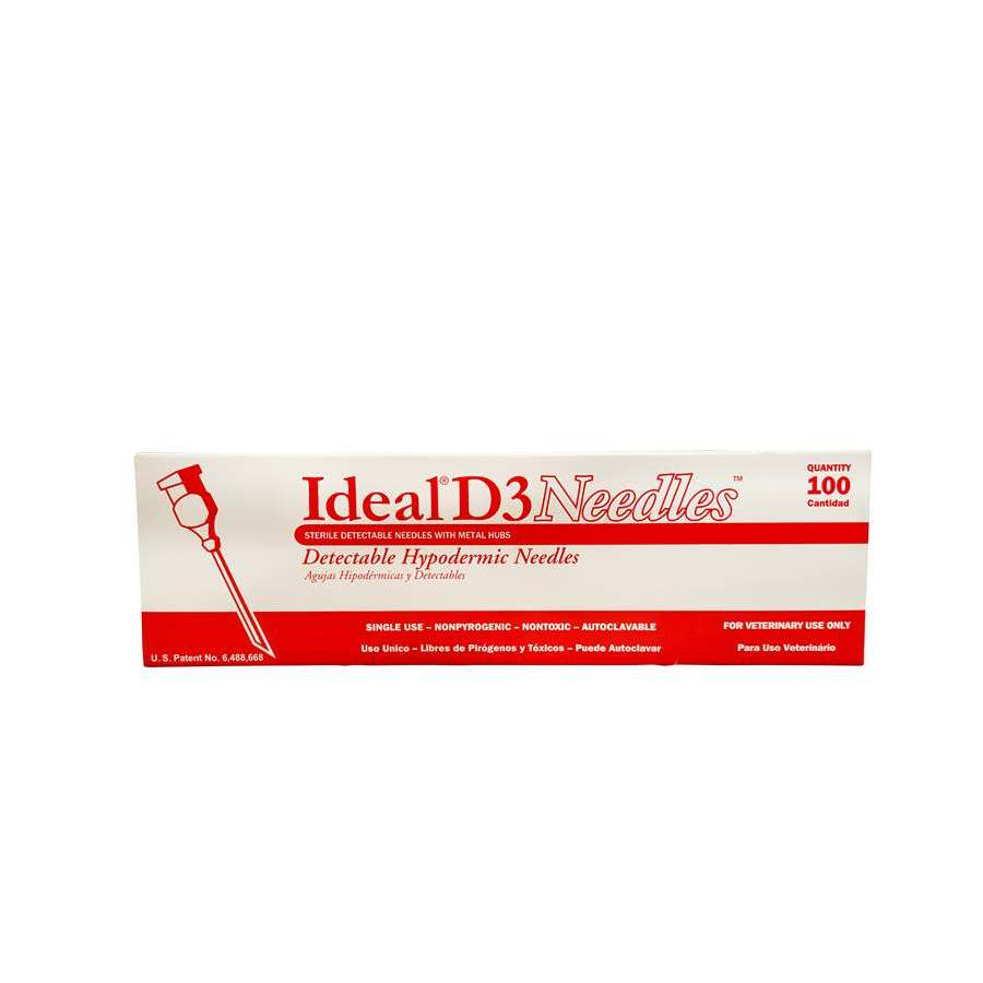 Needles - D3 Detectable - 10pk