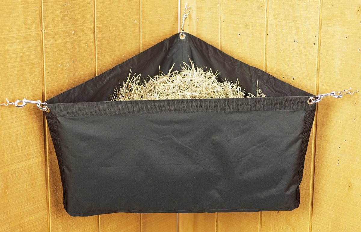 Corner Hay Bag with Snaps