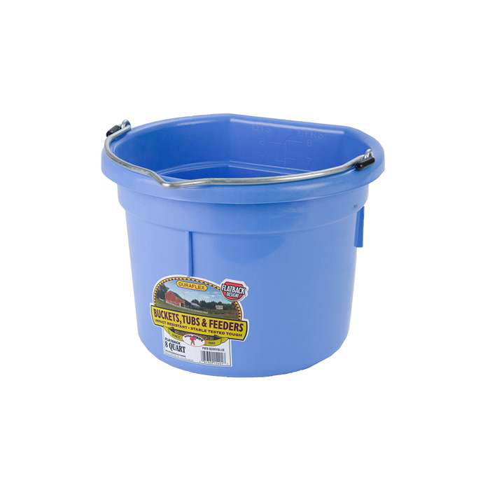 Bucket - Flat Back - 8 Quart