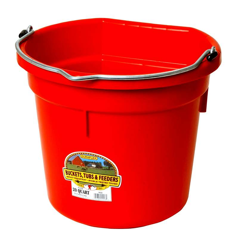 Bucket - Flat Back - 20 Quart