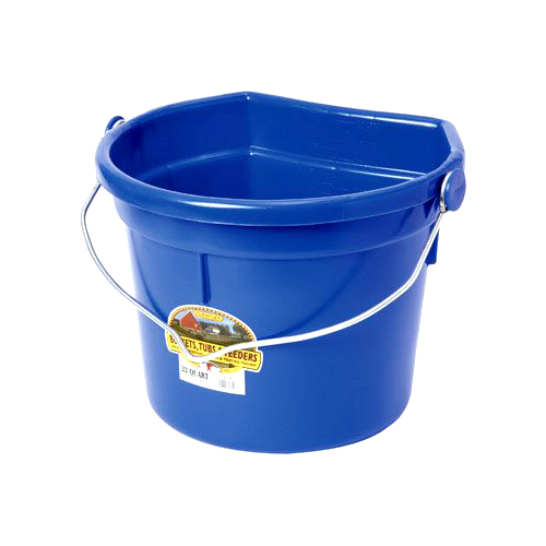 Bucket - Flat Back With Knob