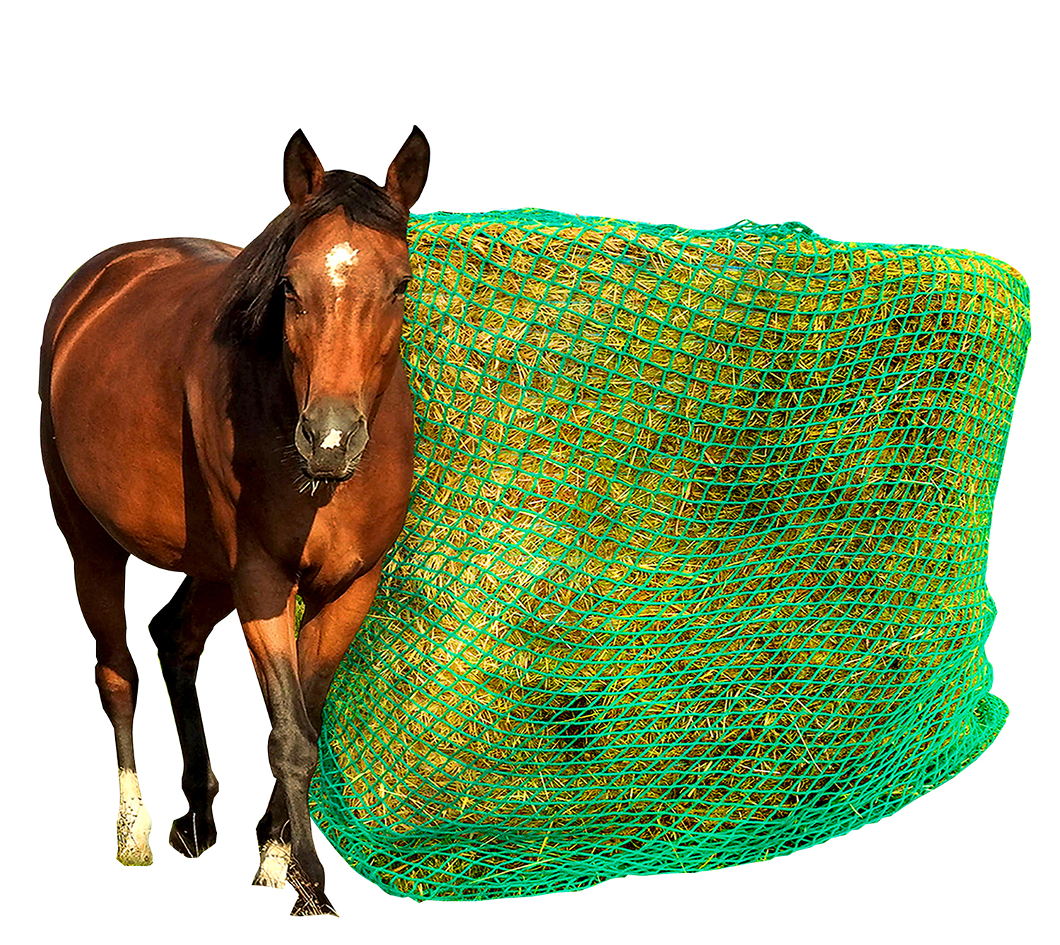 Hay Net - Slow Feed - Round Bale