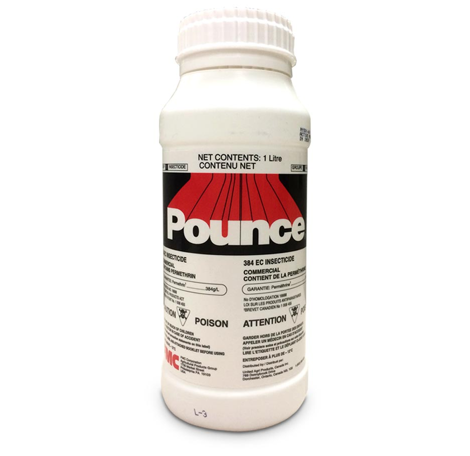 Pounce 384EC Insecticide - Livestock and Premise Insecticide