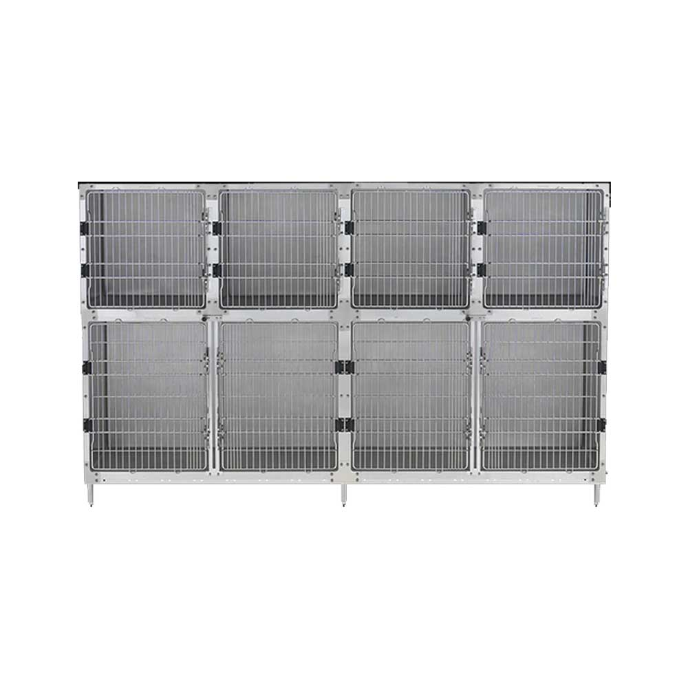 Cage Assembly - 8' - Option B - Stationary Platform