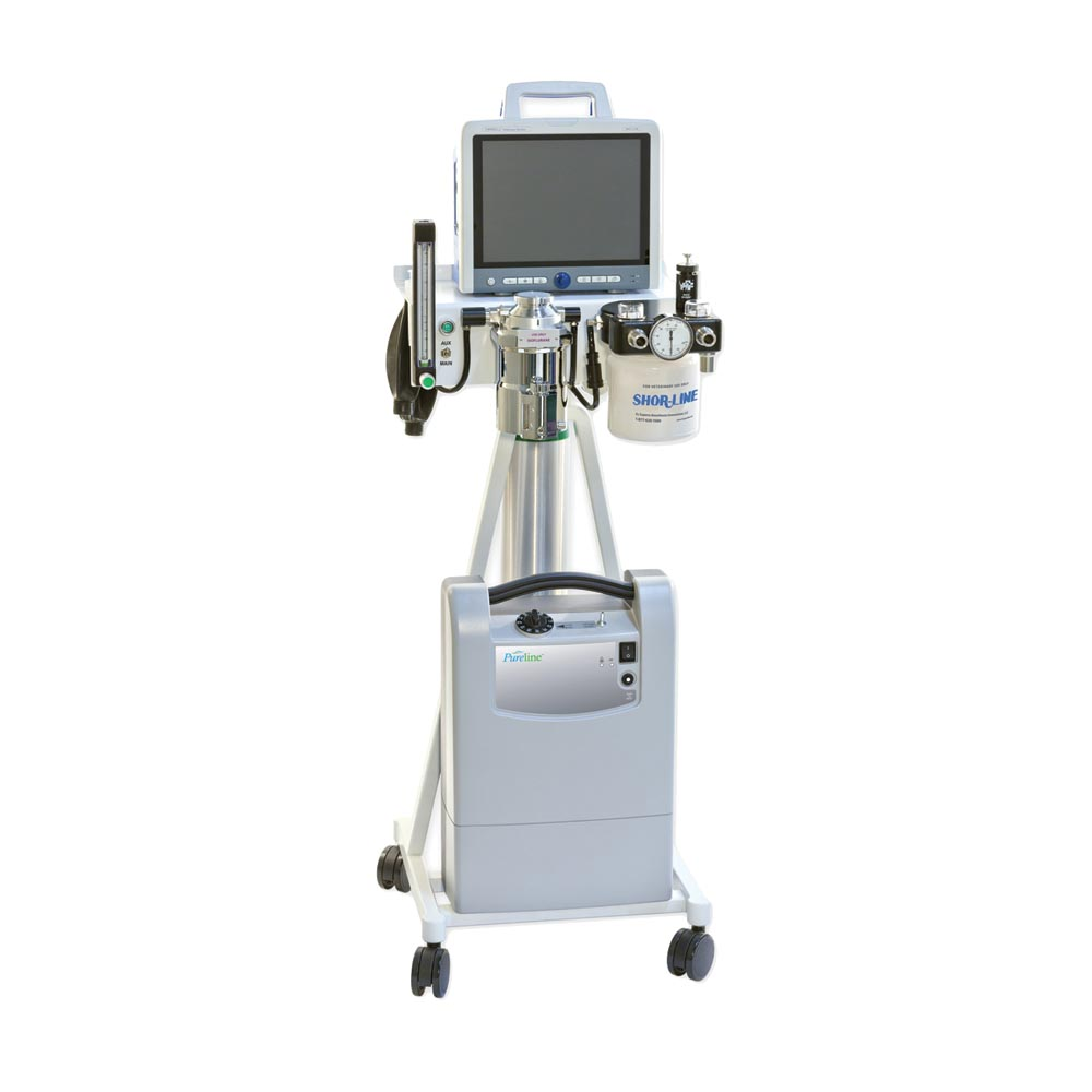 Pureline M6000 Anesthesia Machine with O2 Concentrator