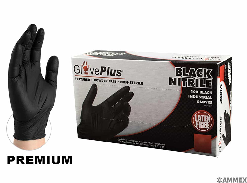Gloves - Nitrile - Heavy Duty
