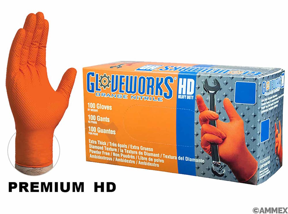 Gloves - Nitrile - Super Heavy Duty