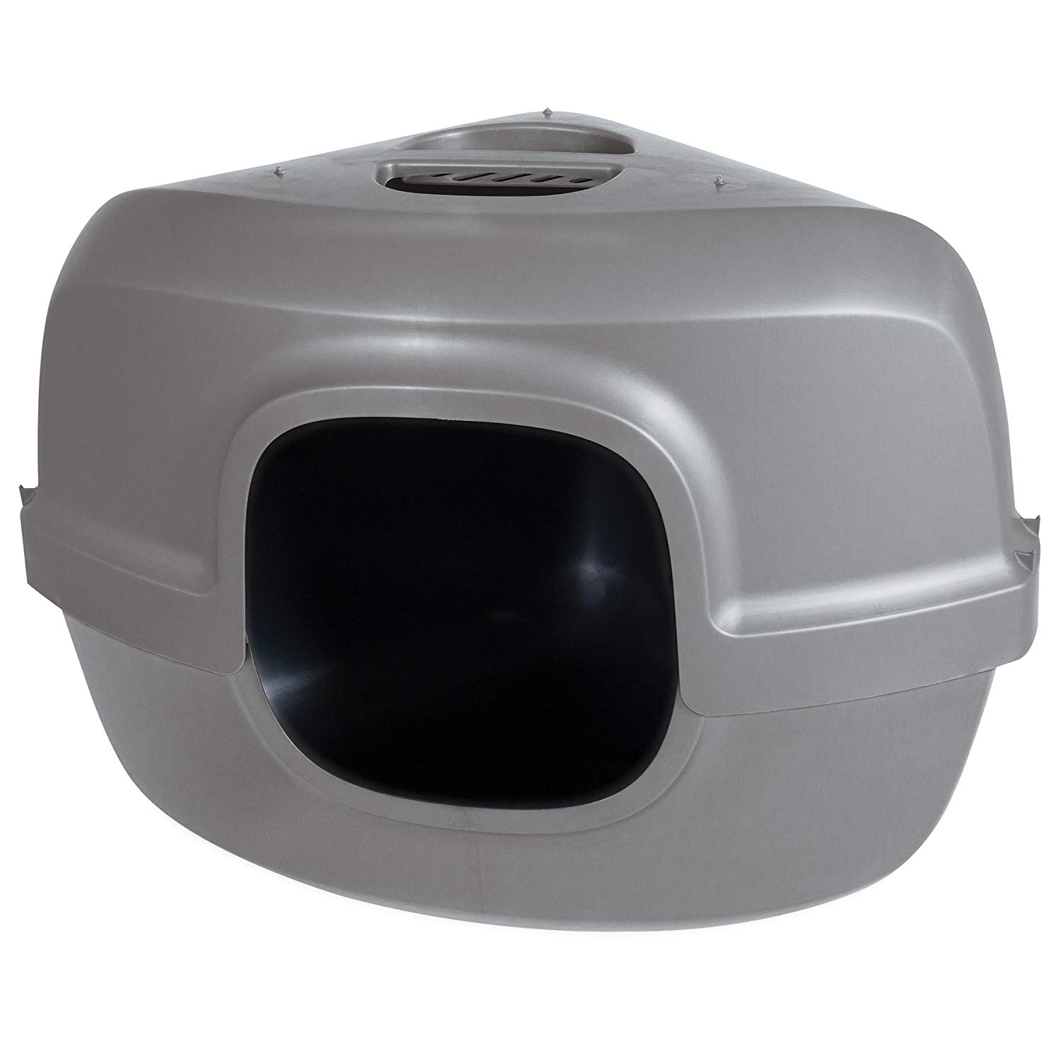 Hooded Litter Pan - Corner