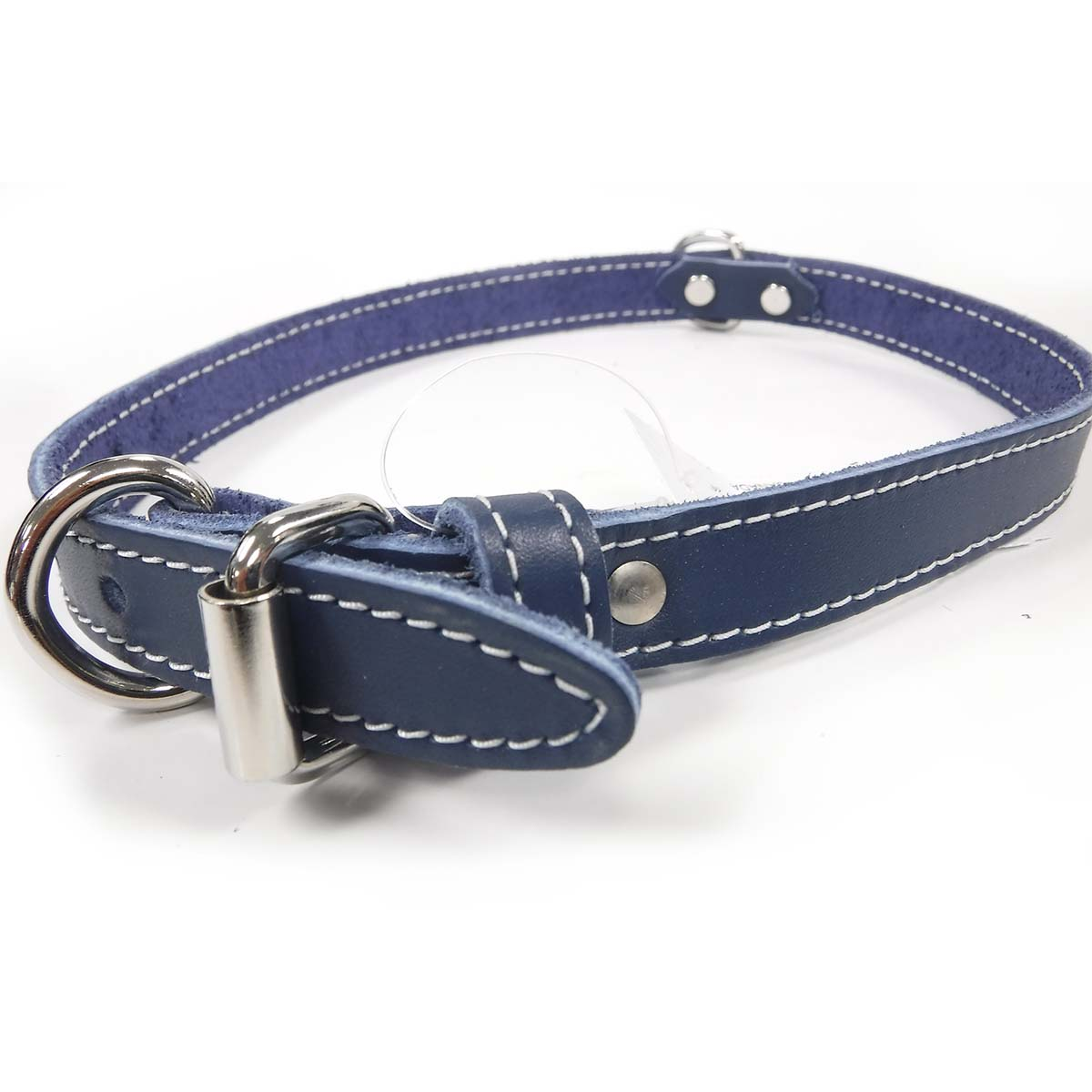 Collar - Single Leather - Blue