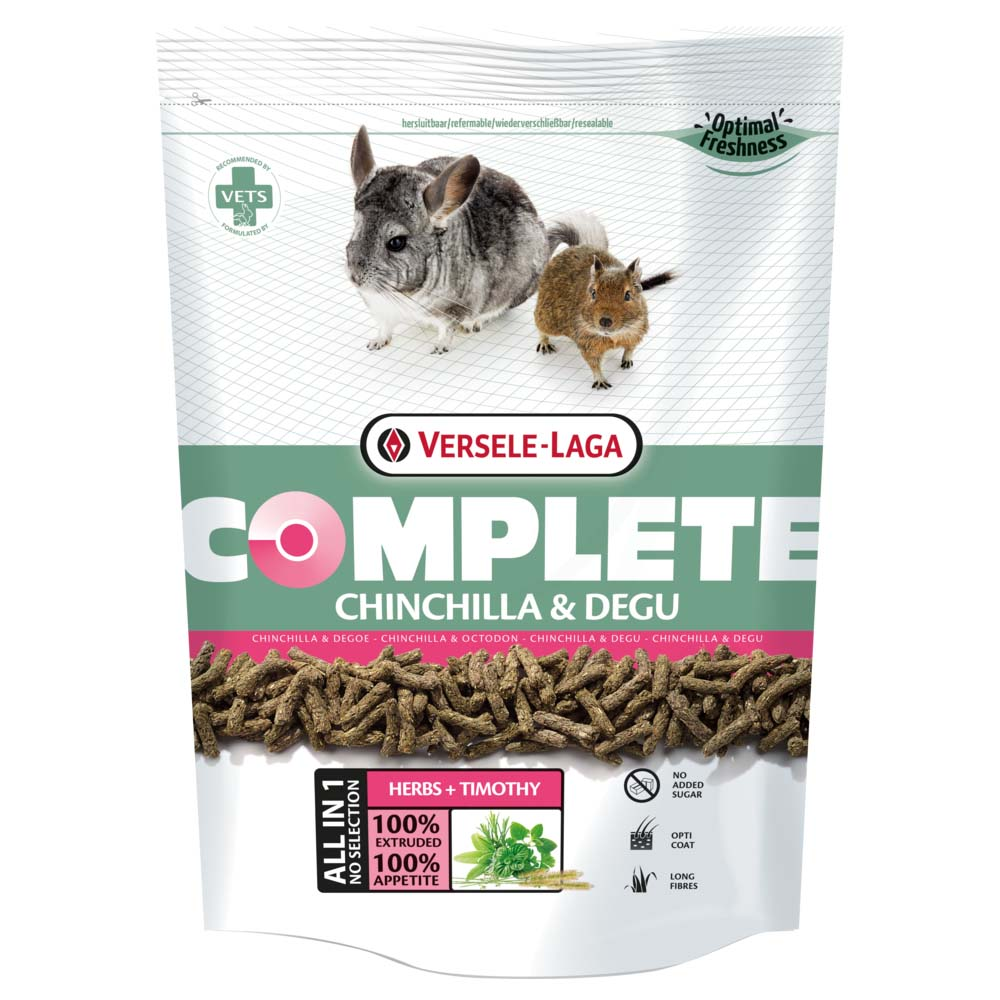 Complete Chinchilla & Degu Pellets
