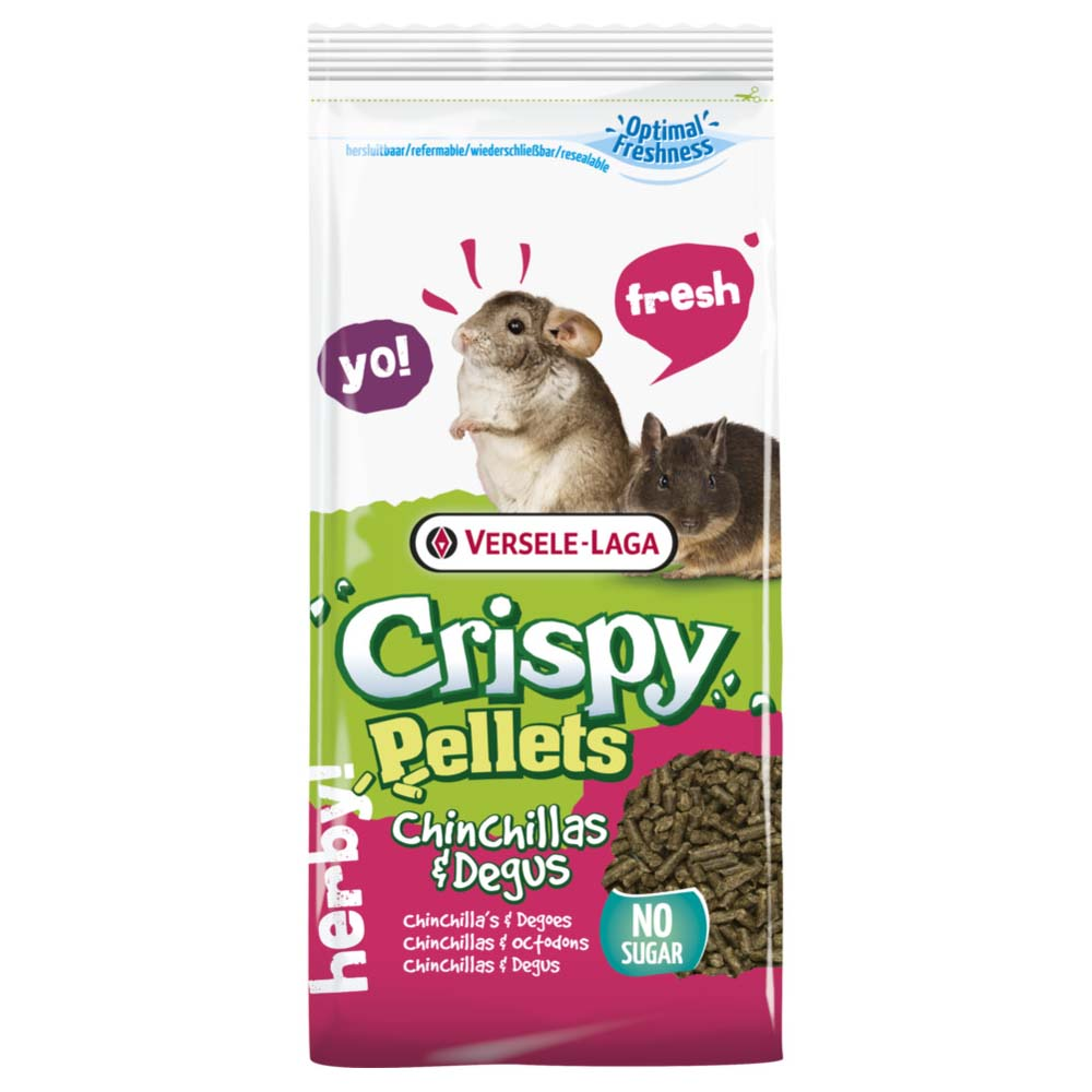 Crispy Pellets - Chinchilla & Degu