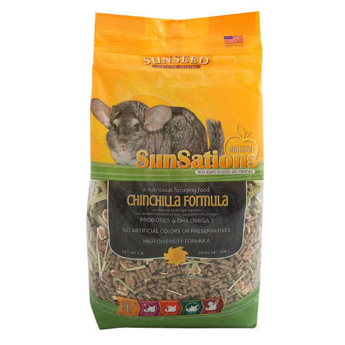 SunSations Chinchilla Food